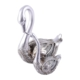 Ubi Home Dekoratif Gümüş Yavrulu Kuğu