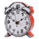 Evdebir Kırmızı Yüzeyli Karikatürize Saat