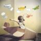DekorLoft Uçaklar Çocuk Odası Duvar Sticker