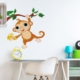 DekorLoft Minik Maymun Çocuk Odası Sticker CS-243