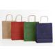 Menteşoğlu Kağıtçılık Kraft Kağıt Poşet ve Renkleri 18x24x8cm-25adet