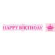 Loveq Folyo Afiş Asil Prenses Partisi Happy Bırthday 183 Cm Drn-68030