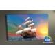 Evmanya Deco 3b Yelkenli Gemi Led Işıklı Kanvas Tablo 45x65 cm
