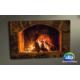 Evmanya Deco Şömine Led Işıklı Kanvas Tablo 45x65 cm