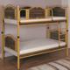 Arbella Vinta Home Avangard 90*190 Çift Kişilik Ayrılabilir Ranza Ceviz / Altın