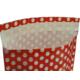 Menteşoğlu Kağıtçılık Kendinden Yapışkanlı Kağıt Hediye Paketi 30x40cm (alttan körüklü) 25 adet