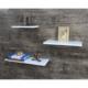Evmanya Haus Zoom 3'lü Duvar Rafı Beyaz