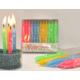Doğumgünü Mumu 24'Lü Happy Bırthday Yazılı