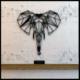 Hangover Elephant Metal Duvar Tablo