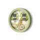 The Mia Duvar Saati - Mutfak Bisiklet Yeşil