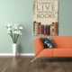 Hepsiburada Home Lıve Books Kanvas Tablo