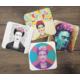 KFBiMilyon Frida Kahlo Tasarımlı MDF Bardak Altlığı Seti