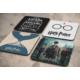 KFBiMilyon Harry Potter Tasarımlı MDF Bardak Altlığı Seti