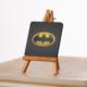 KFBiMilyon Batman Logo Siyah Zemin Tasarımlı MDF Masa Dekoru