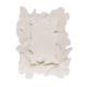 Kurdelya Kelebekli Çerçeve Boyanabilir Polyester Obje