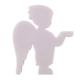 Kurdelya Ayakta Duran Erkek Biblo Boyanabilir Polyester Obje