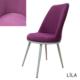 Beste Kumaş Mutfak Sandalyesi Lila