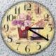 K Dekorasyon KS-3065 Mdf Kaplama Duvar Saati - 30x30 cm