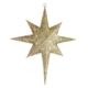 KullanAtMarket Altın Simli Kuzey Yıldızı Dekor Süsü 50cm
