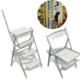 Weblonya Merdiven Sandalye Tabure Katlanır Merdiven Tabure