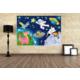 Evmanya Deco HBD-180X100 8 Duvar Posteri 180x100 Cm