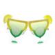 Pandoli Sarı Yeşil Renk Margarita Gözlüğü
