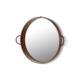 The Mia Bakır Kaplama Ayna 52 Cm