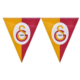 Elitetime Galatasaray Üçgen Bayrak Set - Be1505