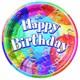Pandoli Brilliant Birthday Lunch Tabak 23 Cm 8 Adet