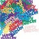 Pandoli Happy Birthday Karışık Renk Masa Üzeri Serpme Konfeti 15 Gr