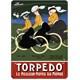 Metal Poster - Torpedo Moyeu 15X20cm.