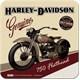 Harley Davidson Flathead Tekli Bardak Altlığı 9 x 9 cm