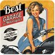 Best Garage Yellow Tekli Bardak Altlığı 9 x 9 cm