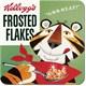 Kellog's Frosted Flakes Tony Tiger Tekli Bardak Altlığı 9 x 9 cm