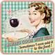 Cook With Wine Tekli Bardak Altlığı 9 x 9 cm