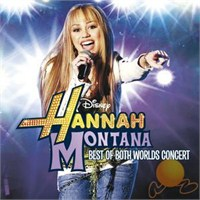 Disney Soundtrack HM2 - Hannah Montana 2 / Mıley Cyrus - Best Of Both Worlds Concert Cd + Dvd