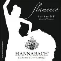 Hannabach 8278 Mt Flamenko Gitar Teli (Alt 3′Lü Set)
