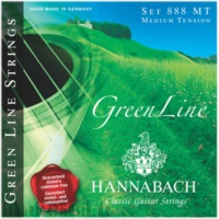 Hannabach Green Line 8887 Mt Klasik Gitar Teli (3′Lü Bas Set)