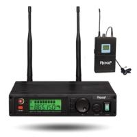 Roof R-1100 Yaka Tipi Telsiz Mikrofon