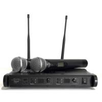 Roof R-920E Çift El Tipi Telsiz Mikrofon