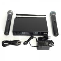 Roof R-820E Çift El Tipi Telsiz Mikrofon