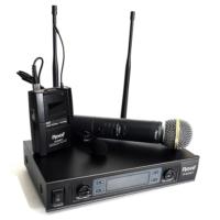 Roof R-820EY Bir El Bir Yaka Tipi Telsiz Mikrofon