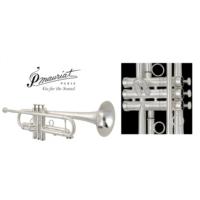 P.Maurıat Pmt-700Msp Profesyonel Trompet (Matte Silver Plated)