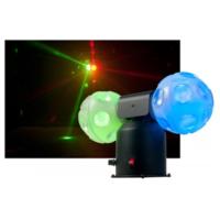 Amerikan Dj Jelly Cosmos Ball Dönebilen Çift Top Işık Sistemi