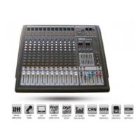 Dexun Pro-1282S Power Mikser Amfi 2X500 Watt 12 Kanal
