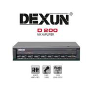 Dexun D-200 Hat Trafolu 100 Volt Amfi 120 Watt