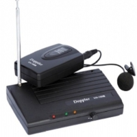 Doppler Vh-100B Yaka Tipi Telsiz Mikrofon