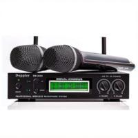 Doppler Dm302H Çiftli El Tipi Telsiz Mikrofon