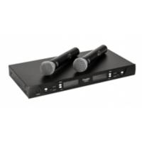 Doppler Dm602H Çiftli El Tipi Telsiz Mikrofon