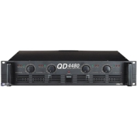 İnterm Qd-4480 Power Amfi 4X120Watt